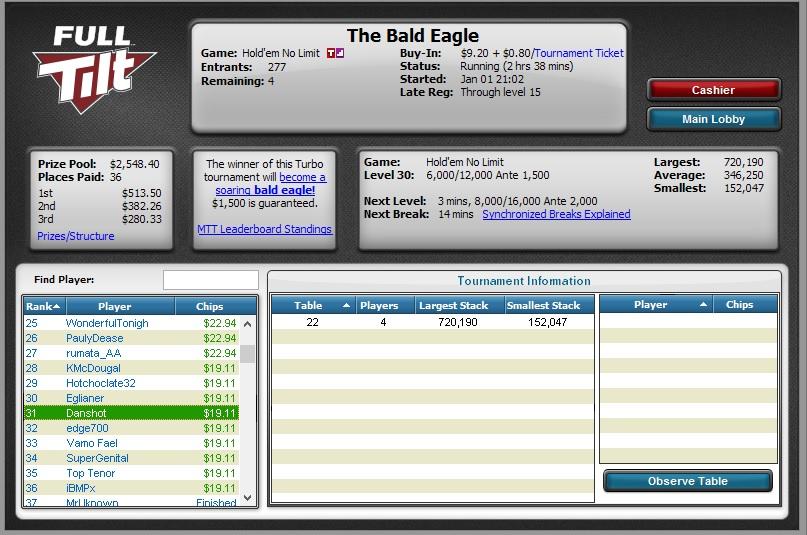 FT $10 Bald Eagle - $19.11 Cash 31st.jpg