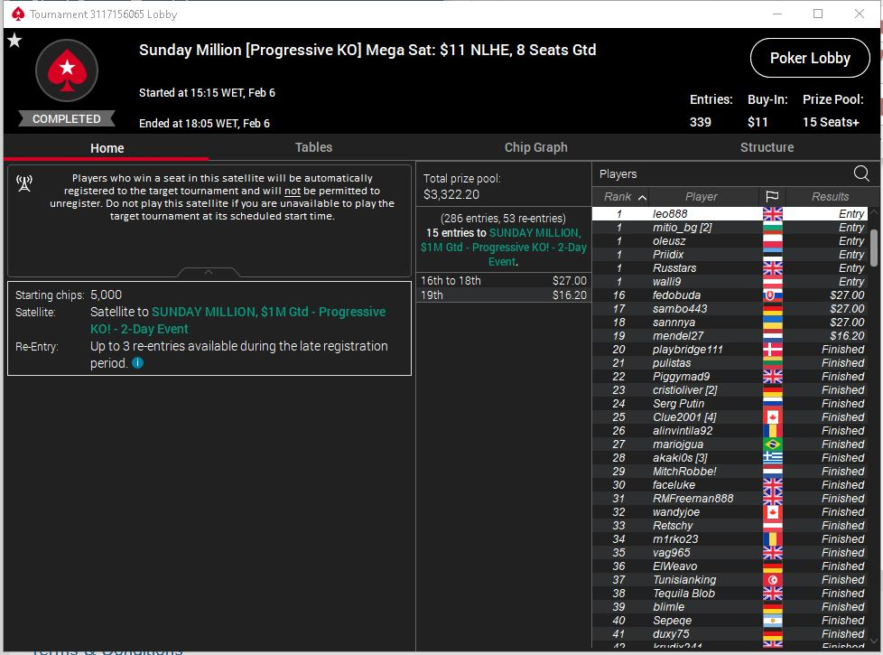Sunday million pko seat 6 2 21.jpg